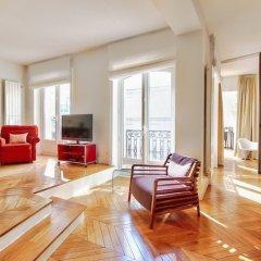 Отель Luminous Apt near Galerie Lafayette Париж комната для гостей фото 2