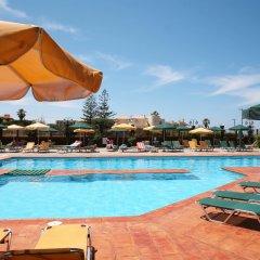 Отель Kaissa Beach Греция, Гувес - 1 отзыв об отеле, цены и фото номеров - забронировать отель Kaissa Beach онлайн бассейн