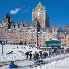Отель Fairmont Le Chateau Frontenac Канада, Квебек - отзывы, цены и фото номеров - забронировать отель Fairmont Le Chateau Frontenac онлайн спортивное сооружение