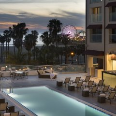 Отель Loews Santa Monica Санта-Моника бассейн фото 3