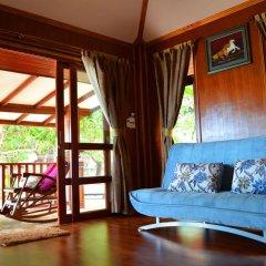 Отель Sayang Beach Resort Ланта комната для гостей