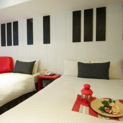 Ecfa Hotel-Ximen Red House Branch комната для гостей фото 5