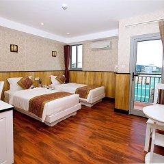Отель Golden Rain 2 Нячанг комната для гостей