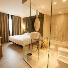 Отель Plaza Испания, Ла-Корунья - отзывы, цены и фото номеров - забронировать отель Plaza онлайн комната для гостей фото 2