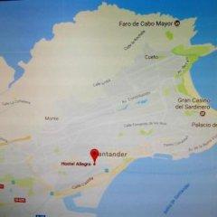 Отель Hostel Allegro Испания, Сантандер - отзывы, цены и фото номеров - забронировать отель Hostel Allegro онлайн приотельная территория
