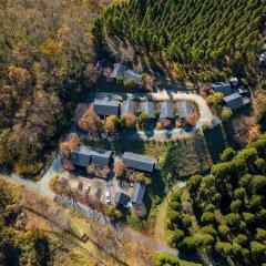 Отель Ryokan Hanagokoro Минамиогуни приотельная территория
