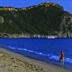 Palmiye Beach Hotel пляж