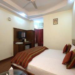 Отель Chanchal Deluxe Индия, Нью-Дели - отзывы, цены и фото номеров - забронировать отель Chanchal Deluxe онлайн комната для гостей фото 3