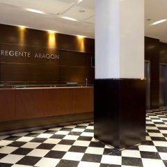 Отель Regente Aragón интерьер отеля фото 3