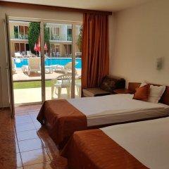 Отель Sun City Hotel Болгария, Солнечный берег - отзывы, цены и фото номеров - забронировать отель Sun City Hotel онлайн комната для гостей фото 4
