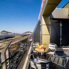Отель Бизнес Отель Пловдив Болгария, Пловдив - отзывы, цены и фото номеров - забронировать отель Бизнес Отель Пловдив онлайн балкон