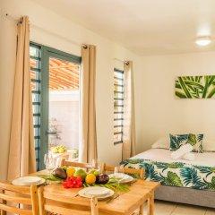 Отель Moemoea Lodge Французская Полинезия, Бора-Бора - отзывы, цены и фото номеров - забронировать отель Moemoea Lodge онлайн комната для гостей фото 3