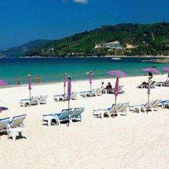 Отель The Nest Resort пляж