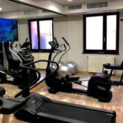 Отель Grande Albergo Roma Пьяченца фитнесс-зал