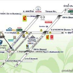 Отель Bs Residence Suvarnabhumi Бангкок городской автобус