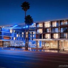 Отель SHORE Санта-Моника вид на фасад