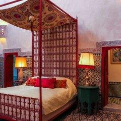 Отель Le Jardin Des Biehn Марокко, Фес - отзывы, цены и фото номеров - забронировать отель Le Jardin Des Biehn онлайн комната для гостей фото 5