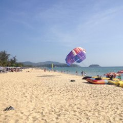 Апартаменты Nin Apartments Karon Beach пляж