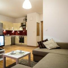 Отель Silver Apartments Польша, Варшава - отзывы, цены и фото номеров - забронировать отель Silver Apartments онлайн комната для гостей фото 4