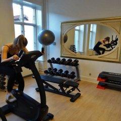 Отель Royal Дания, Орхус - отзывы, цены и фото номеров - забронировать отель Royal онлайн фитнесс-зал фото 2