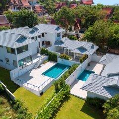 Отель Sam-kah Villa Jade Таиланд, Самуи - отзывы, цены и фото номеров - забронировать отель Sam-kah Villa Jade онлайн бассейн фото 3