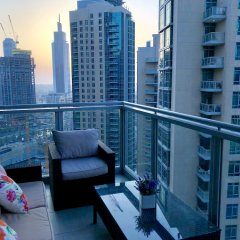 Отель Ultimate Stay 4BR Burj Khalifa view балкон