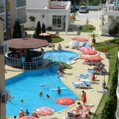 Апартаменты Sun Village Apartments Солнечный берег балкон