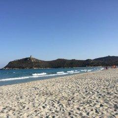 Отель Stella Maris пляж