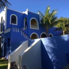 Отель Hacienda San Pedro Nohpat парковка