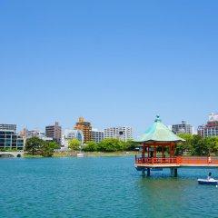 Отель The Metropolitan Япония, Хаката - отзывы, цены и фото номеров - забронировать отель The Metropolitan онлайн приотельная территория
