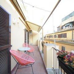 Отель Central Rome Suites балкон