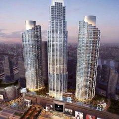 Отель Address Fountain Views Дубай вид на фасад фото 2