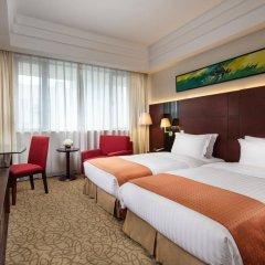 Отель Holiday Inn Shanghai Hongqiao Central комната для гостей фото 5