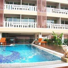 Отель Kacha Jomtien Residence бассейн