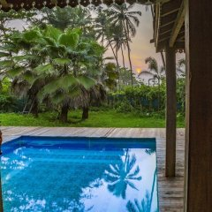 Отель GuestHouser 3 BHK Villa 9e06 Гоа бассейн