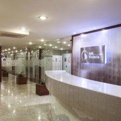 Отель Prestige Victoria Hotel Испания, Курорт Росес - 1 отзыв об отеле, цены и фото номеров - забронировать отель Prestige Victoria Hotel онлайн интерьер отеля фото 2