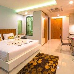 Отель At The Tree Condominium Phuket Студия с различными типами кроватей