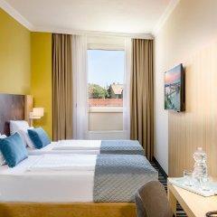 Отель Leonardo Hotel Budapest Венгрия, Будапешт - 1 отзыв об отеле, цены и фото номеров - забронировать отель Leonardo Hotel Budapest онлайн комната для гостей фото 2