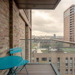 Отель 1 Bedroom Flat in Surrey Quays With Balcony Великобритания, Лондон - отзывы, цены и фото номеров - забронировать отель 1 Bedroom Flat in Surrey Quays With Balcony онлайн балкон