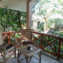 Отель tropical heaven's garden samui балкон