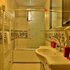 Dedeli Deluxe Hotel Турция, Ургуп - отзывы, цены и фото номеров - забронировать отель Dedeli Deluxe Hotel онлайн ванная