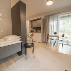 Отель Spot Apartments Hiekkaharju Финляндия, Вантаа - отзывы, цены и фото номеров - забронировать отель Spot Apartments Hiekkaharju онлайн комната для гостей фото 3
