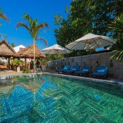 Отель An Bang Garden Homestay бассейн