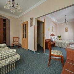 EA Hotel Mozart комната для гостей