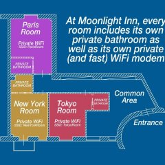 Отель Moonlight Inn Guest House Италия, Рим - отзывы, цены и фото номеров - забронировать отель Moonlight Inn Guest House онлайн с домашними животными