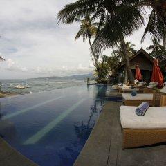 Отель Bayshore Villas Candi Dasa Индонезия, Бали - отзывы, цены и фото номеров - забронировать отель Bayshore Villas Candi Dasa онлайн бассейн