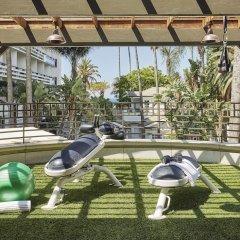 Fairmont Miramar Hotel & Bungalows Санта-Моника фитнесс-зал