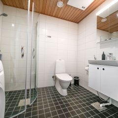 Отель Spot Apartments Espoon Keskus Финляндия, Эспоо - отзывы, цены и фото номеров - забронировать отель Spot Apartments Espoon Keskus онлайн ванная фото 2