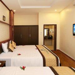 Отель Hanoi Golden Charm Hotel Вьетнам, Ханой - отзывы, цены и фото номеров - забронировать отель Hanoi Golden Charm Hotel онлайн комната для гостей фото 5
