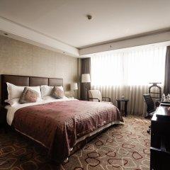 Отель DoubleTree by Hilton Shanghai Jing'an Китай, Шанхай - отзывы, цены и фото номеров - забронировать отель DoubleTree by Hilton Shanghai Jing'an онлайн комната для гостей фото 2